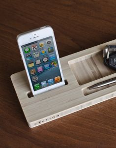 iSkelter Bamboo Desk Caddy
