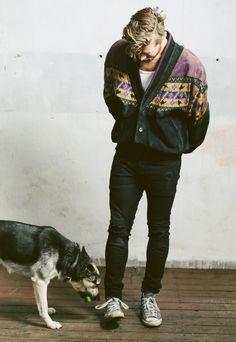 Vintage 90s Aztec Suede Jacket | NorthernGrip | ASOS Marketplace