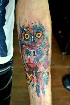 tatuagem tattoo aquarela watercolor inspiration inspiracao - ideia quente (62)