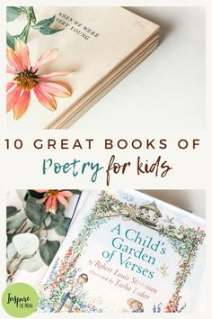 10 Great Books of Poetry for Kids - Inspire the Mom