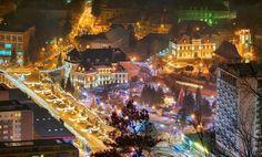 stephen the great moldavia – Romania Dacia Brasov Romania, Bucharest Romania, Beautiful Winter Scenes, Moldova, Christmas Lights, The Good Place, Scotland, Country, Europe