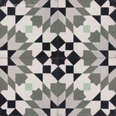 Casablanca Gray from the Moroccan Collection. Tiles We Love at Design Connection, Inc. | Kansas City Interior Design http://www.DesignConnectionInc.com/design-blog