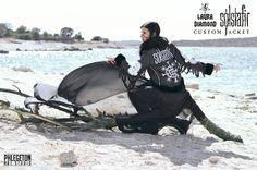 Laura Diamond-Sólstafir  special edition jacket by LauraDiamondShop on Etsy