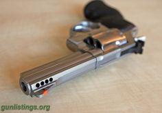 Taurus Model 669CP Revolver, Stainless, .357 Magnum