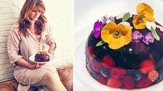 jelly van rosé, vermout en rood fruit