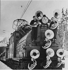 The 10 Tuba Express was an annual event in Lamux, Virginia... unfortunately, it lost a few coming round the last curve.