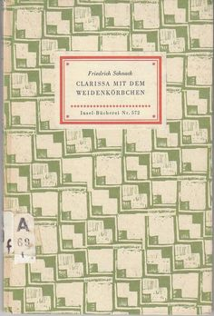 Vintage book cover Insel-Bücherei, Germany