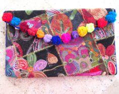 Handmade Ethnic Boho Clutch Bags by ancientgreciansandal on Etsy
