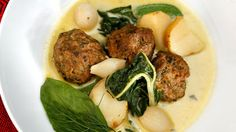 Recipe: Meatball Haslama with tahini liaison