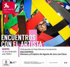 Exposición de la mano de Pepe Dámaso | Canarias Free