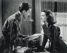 Hedy Lamarr and James Stewart in Come Live With Me directed by Clarence Brown, 1941