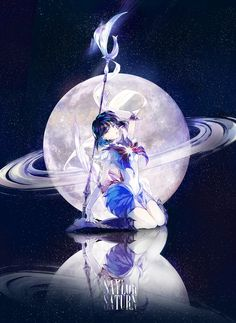 sailor moon, sailor saturn, hotaru tomoe