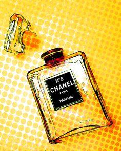 Chanel #340 Pop Art Canvas 16 x 20 #2717