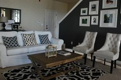 The Shabby Nest: My Living Room: The Reveal~