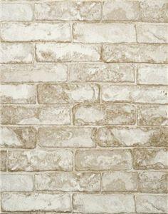 York Wallcoverings Modern Rustic x Embossed Wallpaper Roll Color: Slate Gray/Coconut White Textured Brick Wallpaper, Rustic Wallpaper, Embossed Wallpaper, Wallpaper Roll, White Wallpaper, Modern Wallpaper, Neutral Wallpaper, Bright Wallpaper, Stone Wallpaper