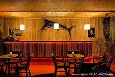 nice fish nice bar great ceiling