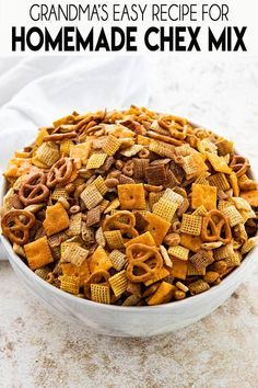 Snack Mix Recipes, Appetizer Recipes, Cooking Recipes, Chex Party Mix Recipe, Cheez It Chex Mix Recipe, Party Snack Mixes, Recipe For Chex Mix, Best Party Mix Recipe, Chex Recipes