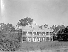 """Lost Louisiana """"Uncle Sam Plantation"""" in Convent circa 1843, one of the most complete southern plantation complexes to have survived the Civil War to be torn down in 1940 for a levee"""