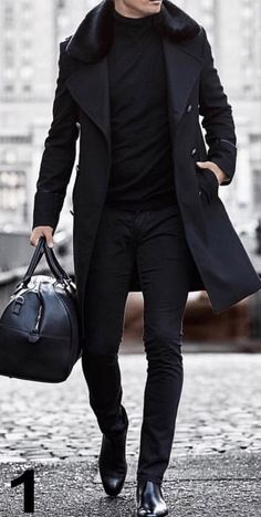 30 The coolest casual winter fashion outfits for me . 30 The coolest casual winter fashion outfits for me ⋆ zonamasak.me , 30 The Most Cool Casual Winter F. Gents Fashion, Fashion Mode, Mens Fashion Suits, Mens Suits, Fashion Boots, Fashion Menswear, Trendy Fashion, Fashion For Man, All Black Mens Fashion