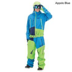 overall one piece snowboard snowkite anzug snow one. Black Bedroom Furniture Sets. Home Design Ideas