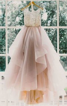 2017 A-line Prom Dress,Sexy O-Neck Evening Dress,Sleeveless Party Gown,Backless Prom Dress,Long Prom Dresses