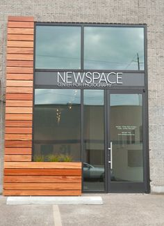 Storefront improvement of Portland's Newspace Center for Photography