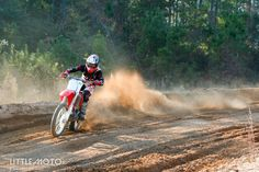 Faith Racer camp 2014 - Honda 450.