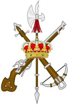 Emblem of the Spanish Legion  Emblema de la Legión Española