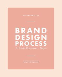 Client-centered Brand Design Process for Creative Entrepreneurs + Bloggers