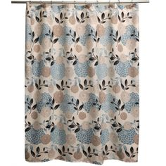 Margarita Fabric Shower Curtain