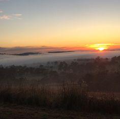 Sunrise last Sunday.