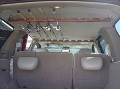 Berkley Or Rapala Rod Racks For Inside A Suv Fishing