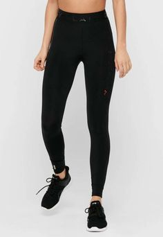 Colanti cu talie inalta pentru antrenament Sport Fitness, Only Play, Leggings, Fashion Days, Skinny, Black Jeans, Sweatpants, Casual, Black
