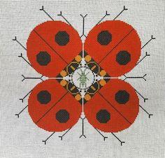 Charley Harper Needlepoint<BR>Last Aphid (On Back Order)