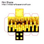 Minecraft Papercraft Designs with tags 'mini, mob'