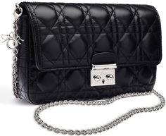 Miss-Dior-Promenade-Pouch-Black-Lambskin-2 Dior Handbags 9ff25d2f810b8