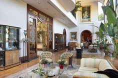 Astonishing Mediterranean Home in Holmby Hills
