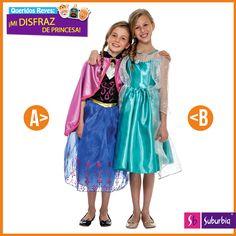 #Versus A ellas les gusta verse como princesas, ¿cuál de éstas opciones les gustaría más?