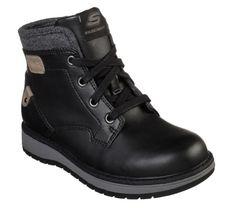 Skechers gyerek bokacipő fekete 94064L-BLK | Skechers Webáruház | Lifestyleshop.hu Skechers, Hiking Boots, Biker, Shoes, Products, Fashion, Moda, Zapatos, Shoes Outlet