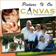 Put your favorite photo on canvas with Picture It On Canvas with today's deal. #sandiego #pictureitoncanvas #deal #art