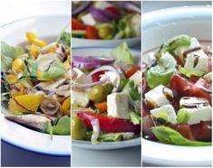 10 przepisów na smaczne i pożywne sałatki - kuchniabazylii.pl - blog kulinarny Caprese Salad, Blog, Diet