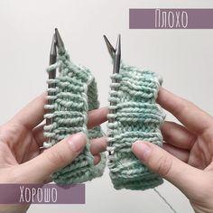 """Уроки Вязания⚜️Схемы⚜️Описания on Instagram: """"Автор мастер- класса @katerina.rodimova  Итак, плохой стык в круг при обычном (традиционном) наборе! Ошибка, которая мне теперь очень режет…"""" Fingerless Gloves, Arm Warmers, Knit Crochet, Knitting, Instagram Posts, Africa, Crafts, Manualidades, Handarbeit"""