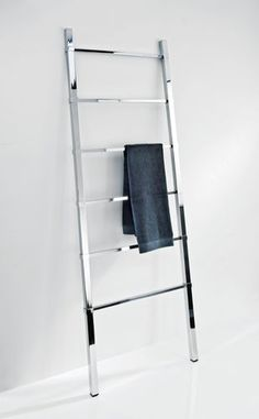Ladder towel rack / multiple / floor-standing / chrome HTL 60 Decor-Walther Einrichtungs