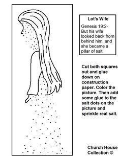 Lot's wife turned into a pillar of salt coloring pages bible Abraham Coloring Pages Abram and Lot Coloring Pages for Preschool Dead Sea Coloring Page