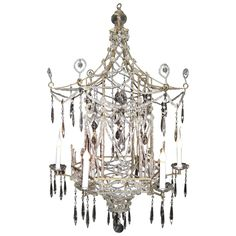 Gold pagoda chandelier on onekingslane chinoiserie diy a rare italian multi light chinoiserie style pagoda form bronze cut crystal and beaded crystal mozeypictures