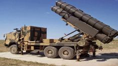 Multiple launch rocket systems are an armored, self-propelled type of rocket artillery. These rocket systems are capable to fire multiple rocket simultaneously and do extremely lethal damage when they hit with the target. Military Vehicles, Fighter Jets, Aircraft, Army, Product Launch, Fire, Marketing, Truck, Target