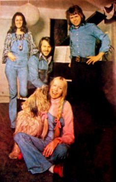 The Vallentuna photo sessions. Several photo sessions were taken during different periods in 1973 in Vallentuna outside Stockholm where the ABBA members lived by that time.