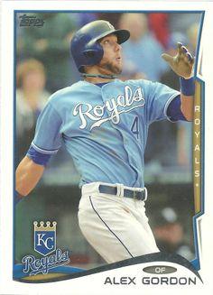 Topps Baseball 2014 #97 Alex Gordon Kansas City Royals MLB Card