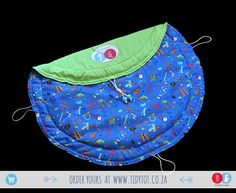 Tidy Tot - Primary colours are the first colours that your baby will recognise and this fully PADDED Tidy Tot can be the first stop to having fun while learning with its brightly coloured ABC's and Animals that come in all shapes and sizes. Bright, Fun and so Functional it is sure to become a favorite  with your little one and a must for the play room.  www.tidytot.co.za | The Play Mat That's a Toy Bag