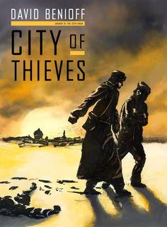 David Benioff: City of thieves | City of Thieves Cover by Milkduster | #davidbenioff #book #fanart #russia #worldwar #stpetersburg #winter